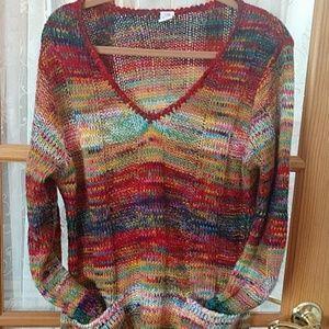 Colorful Bobbie brooks sweater